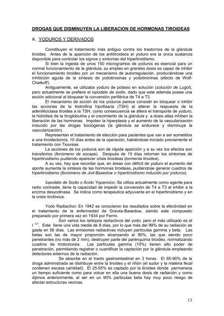 Apunte Farmacología de la Glandula Tiroides - FarmacoMedia
