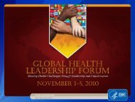 Center for Global Health Place Descriptor Here - Library