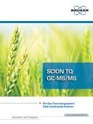 SCION TQ GC-MS/MS Features