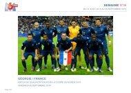 SEMAINE N°36 GÉORGIE / FRANCE - M6 Publicité