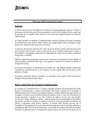 Relazione annuale 2004 - Il Gruppo Hera