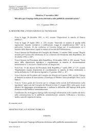 """Direttiva 27 novembre 2003 """"Direttiva per l'impiego della ... - DigitPA"""