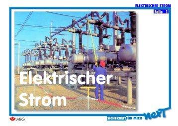 ELEKTRISCHER STROM Folie 1