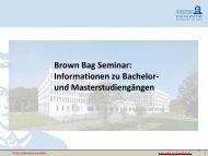 Promotionsstudium - Wiwi Uni-Frankfurt