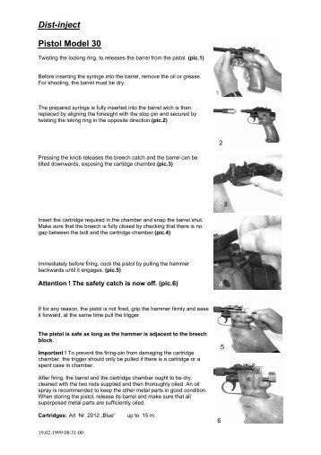 Dist-inject Pistol Model 30 - distinject.com
