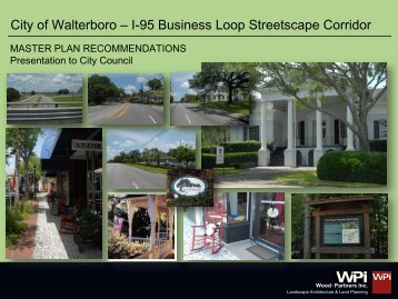 I-95 Loop Master Plan - City of Walterboro