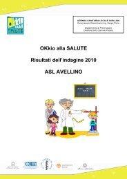 Asl di Avellino - EpiCentro - Istituto Superiore di Sanità