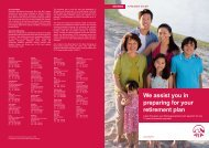 We assist you in preparing for your retirement plan - AIA