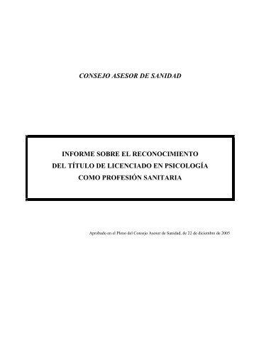 + Información - Asociación Española de Psicología Clínica y ...
