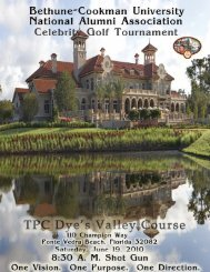 Celebrity Golf Tournament Sponsorship Packet - Duval/Nassau B ...