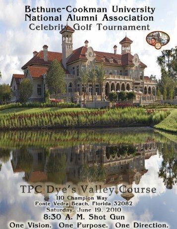 Celebrity Golf Tournament Sponsorship Packet - Duval/Nassau B ...