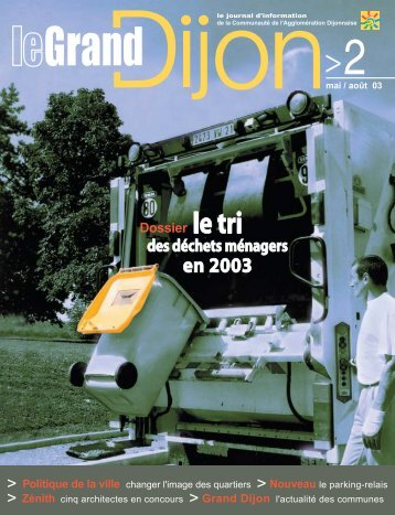 Politique de la ville changer l'image des quartiers ... - le Grand Dijon