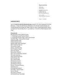 NIEDERSCHRIFT über die festliche Gemeinderatssitzung ... - Villach