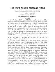 The Third Angel's Message (1893) - Centro de Pesquisas Ellen G ...