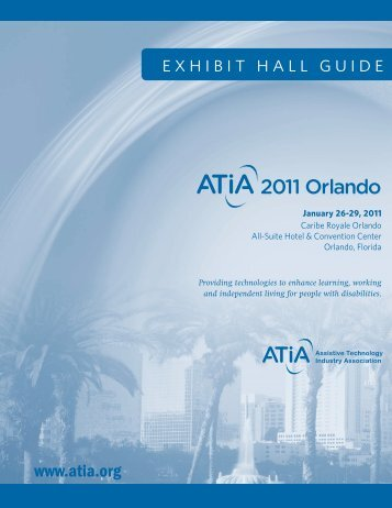 EXHIBIT HALL GUIDE - Assistive Technology Industry Association