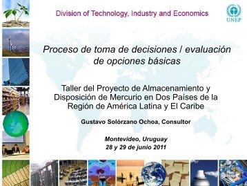 Decisiones, opciones basicas - Centro Coordinador de Basilea ...