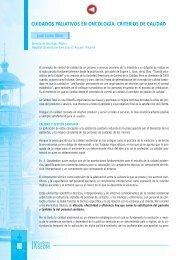 cuidados paliativos en oncología. criterios de calidad - Sociedad ...