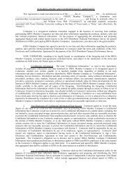 NON-DISCLOSURE AND CONFIDENTIALITY AGREEMENT ... - Hida