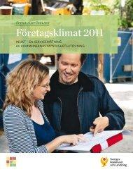 Företagsklimat 2011 - Skellefteå kommun