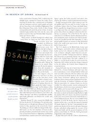 IN SEARCH OF OSAMA | By David Lamb '58 - Phillips Exeter ...