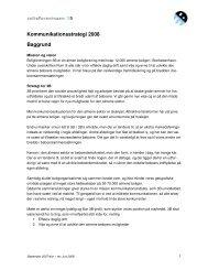 Kommunikationsstrategi 2008 Baggrund - Boligforeningen 3B