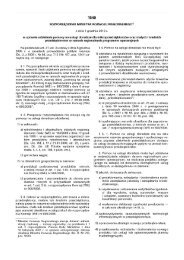 Rozporządzenie Ministra Rozwoju Regionalnego z dnia 1 grudnia ...