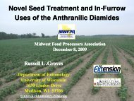 Novel seed treatment and in-furrow uses of anthranilic diamides