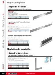 Descargar catálogo en PDF de *MEDICIÓN DE PRECISIÓN - Pegamo