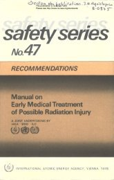 RECOMMENDATIONS Manual on Early Medical Treatment ... - gnssn