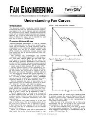 Understanding Fan Curves - FE-2000 - Twin City Fan & Blower