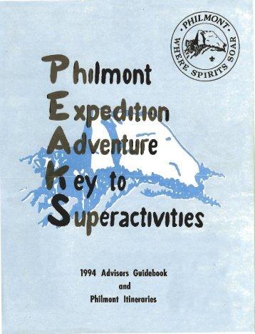 1 - Philmont Document Archives