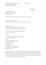 Briefe - Die Homepage von PD Dr. Bianca-Jeanette Schröder