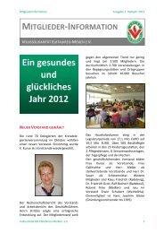 Ein gesundes und glückliches Jahr 2012 - Volkssolidarität ...