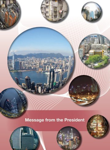 Message from the President - Hong Kong Institute of Surveyors