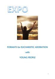 Format for Eucharistic Adoration