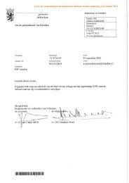 ESF subsidie - Gemeente Schiedam