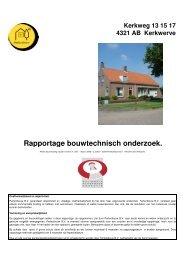 Kerkwerve # Kerkweg 13 15 17 # 4321 AB # 17300 ... - Webkey
