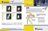 Schneidstoff KC9225TM - Jan Havelka