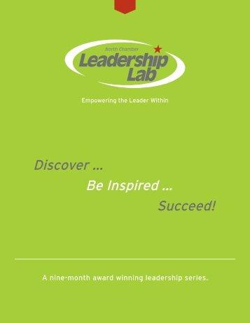 Leadership Lab Program Brochure - North SA Chamber of Commerce