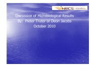 6. Microbiological feedback - Nrcs