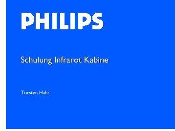 Schulung Infrarot Kabine - ESTA-Poolshop.de