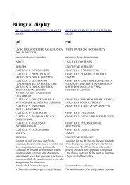 Livro Branco - Segurança Alimentos UE - Embrapa