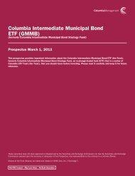 formerly Columbia Intermediate Municipal Bond Strategy Fund