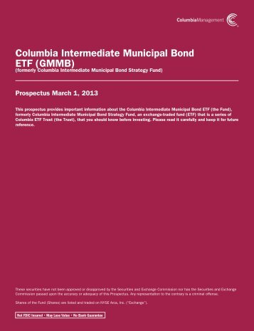 formerly Columbia Intermediate Municipal Bond Strategy Fund