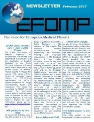 Newsletter February 2013 - European Federation of Organisations ...