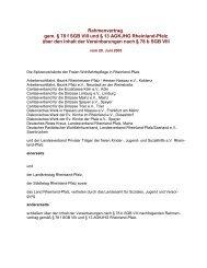 Rahmenvertrag gem. § 78 f SGB VIII - Landesamt für Soziales ...
