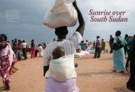 Sunrise over South Sudan - startts