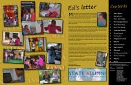 Ed's letter - South Africa