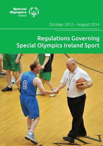 Regulations Governing Special Olympics Ireland Sport