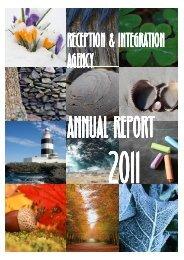 RIA Annual Report (A3)2011 - Reception and Integration Agency (RIA)